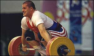 Giles Greenwood at the Commonwealth Games 2002