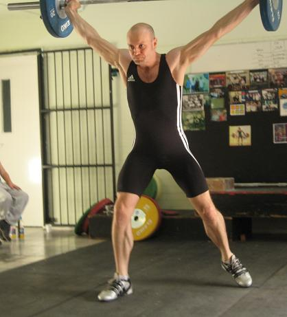 Colin McNulty Olympic Weightlifting Snatch
