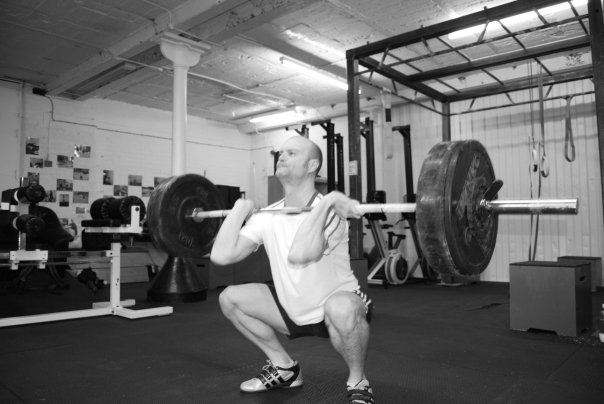 Colin McNulty Front Squat