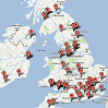 Map and List of CrossFit Gyms in the UK and Ireland post image