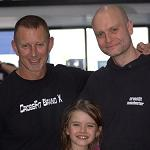 Jeff Martin and Colin McNulty at Crossfit Kids Certification Manchester