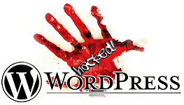 My wordpress blog has been hacked
