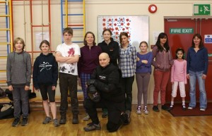 Colin McNulty and some Manchester Self Defence students