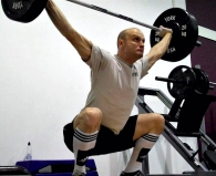 Colin McNulty Snatch Olympic Lift