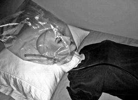 Nitrogen - Helium Suicide Hood Bag Kit