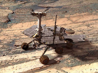 Mars Opportunity Rover 10 Years Old