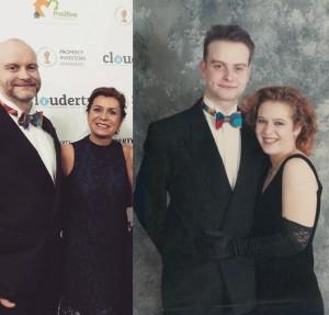 Colin McNulty Tuxedo 20 years apart